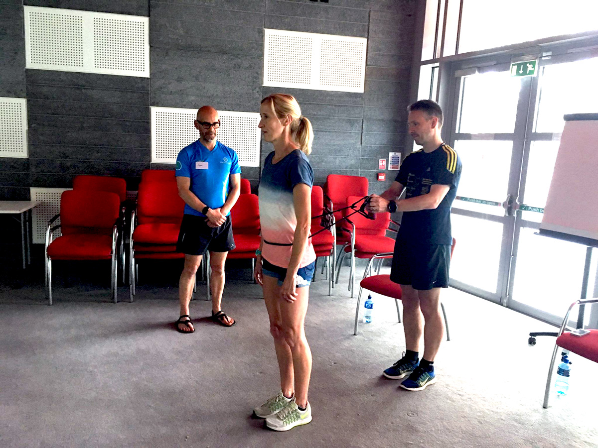 Catherina McKiernan at the Dublin Chi Running Performance Workshop