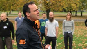 Patrick McKeown teaching the Oxygen Advantage Instructor Training Course, London Oct 2017